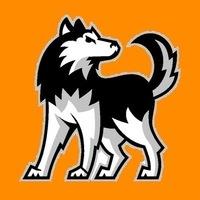 Small huskies logo