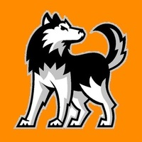 Small huskies logo